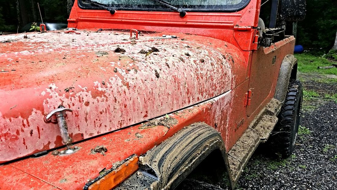 Muddy Jeep #wrangler #pride #and #joy Jeep Life ❤ Jeep Wrangler  Jeeping Jeep Life 4x4wd 4x4ing Playing In The Mud 4th Of July