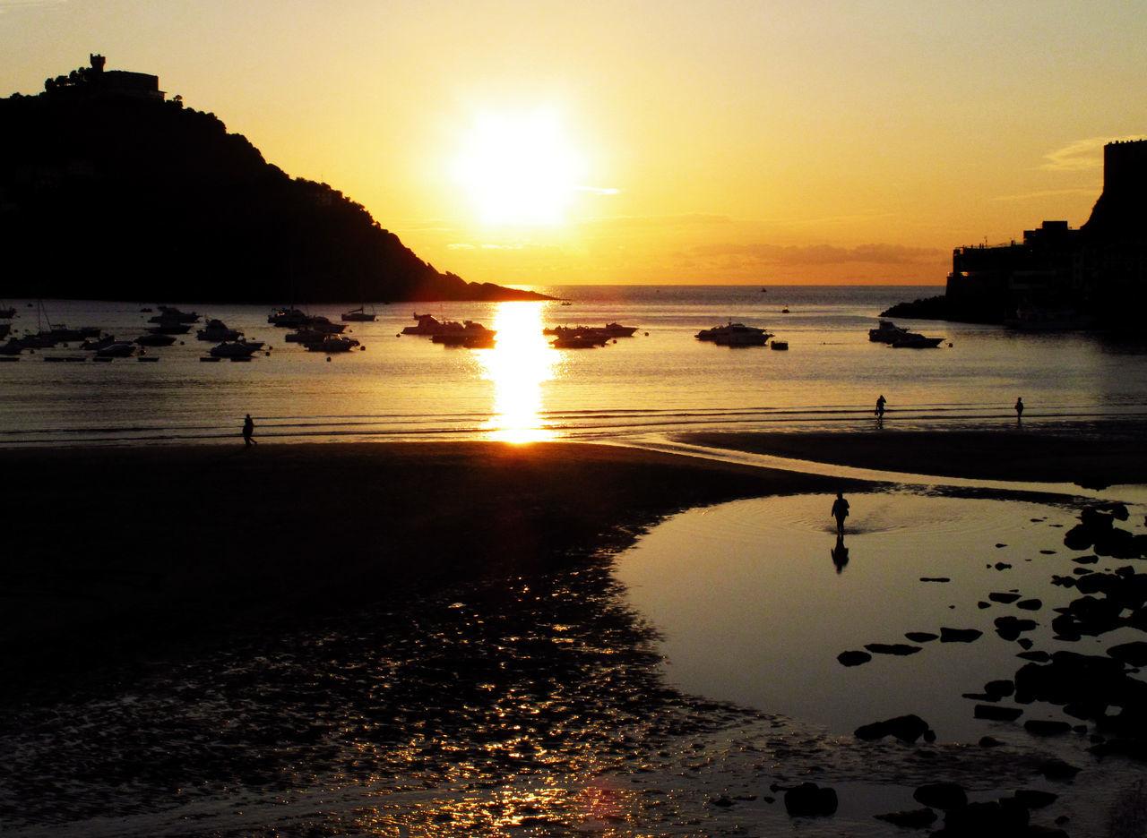 Beautiful stock photos of sun, Beauty In Nature, Cloud, Donostia / San Sebastián, Horizon Over Water