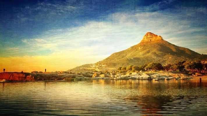 sea in Cape Town by Norma Phoenix