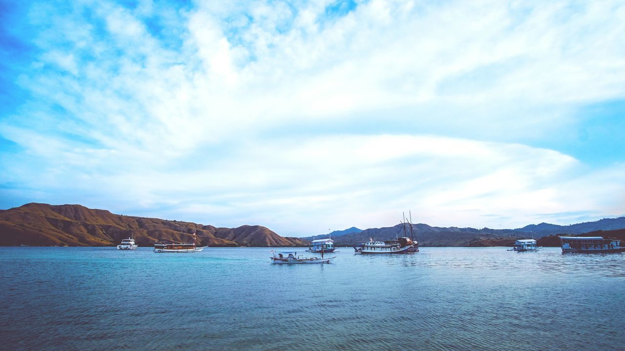 Landscape Horizontal Cloud - Sky No People Water Sky Outdoors Astrology Sign Day Gili Lawa INDONESIA Komodo National Park Flores Lost In The Landscape