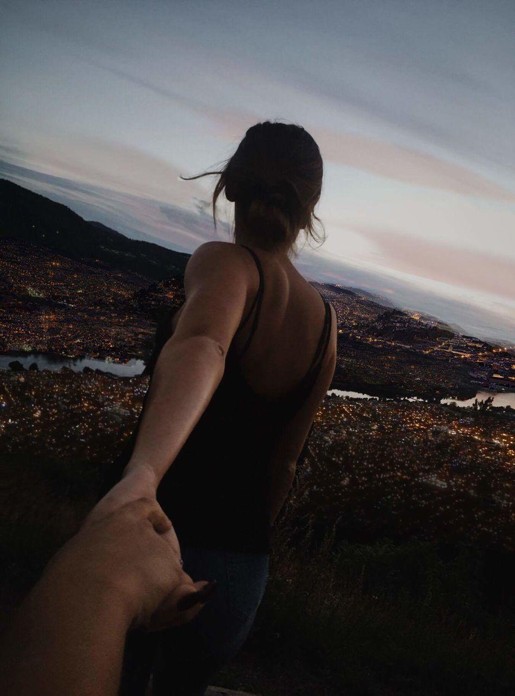 Take my hand...