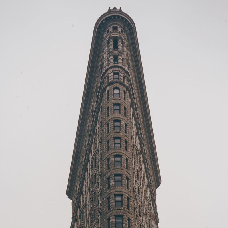 So flat Flatiron Building Flatiron New York City New York Check This Out Architecture Lookingup Photography