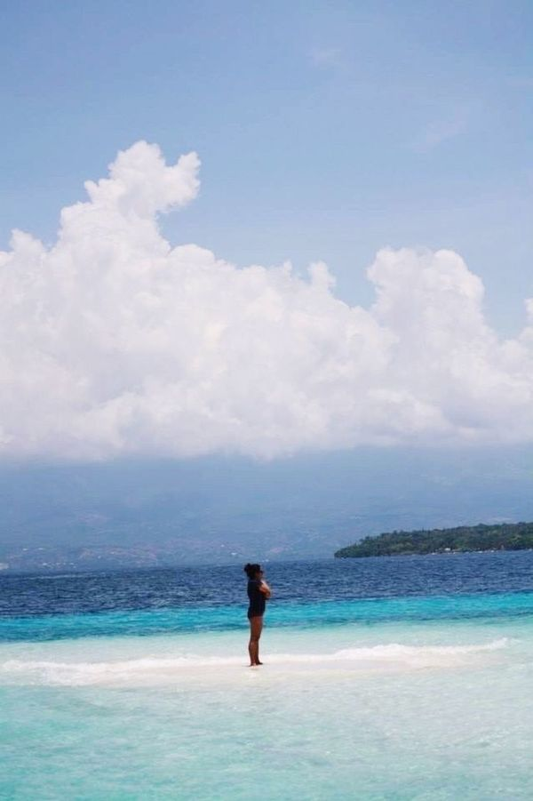 no man is an island ✖️ Life Is A Beach Sand Sea And Sun Vitaminsea Summer Feels Life's Simple Joys Life's Simple Pleasures... Philippines Loving Life! Randomshot ☀️😁😝 Life Is Beautiful Photography Is My Escape From Reality!