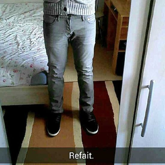 Refait Rpz La Qualite Bonsoir Hello H&M Jeans Shoes Refait