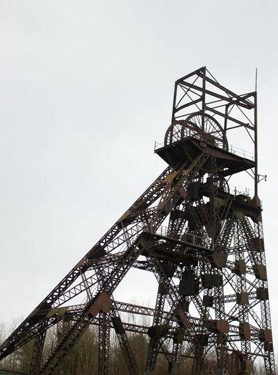 Outdoors Sky No People Day History Through The Lens  History Mining Heritage Lancashire Coalfield Mining Coal Mine Industry Mine Headframe Mine Headgear