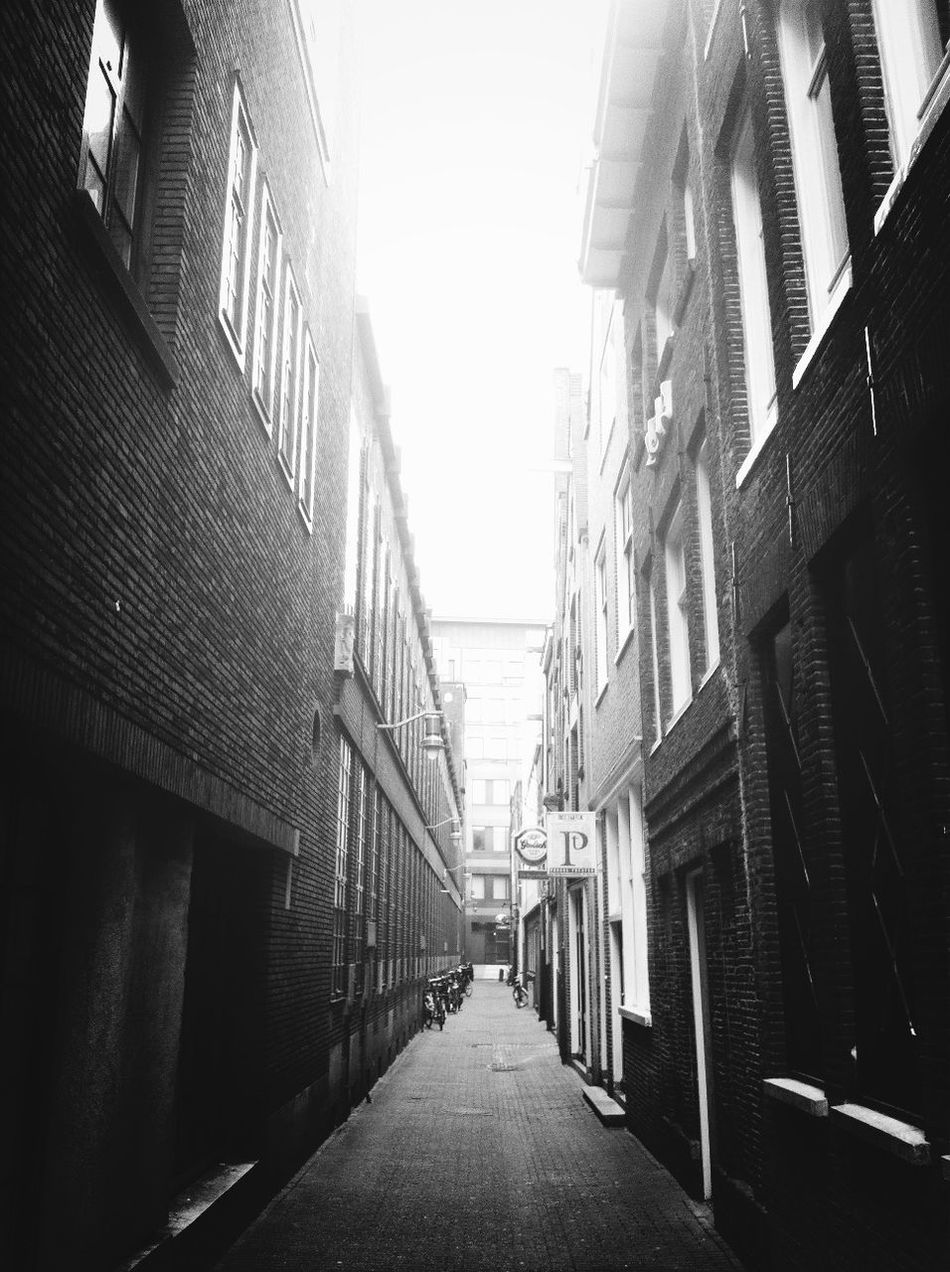 Backstreets & Alleyways