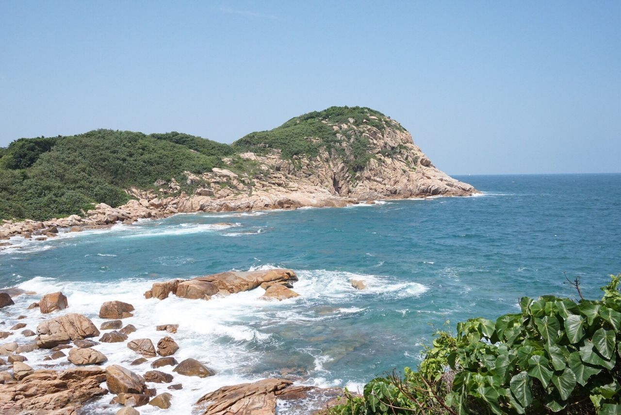 Hello World Hello Hong Kong HongKong Hong Kong Island Shek O Beach Hk Shek O Nature Sea Beauty In Nature Water Rocks And Water Clear Sky Day Outdoors Blue Sunny Day Taking Pictures Click Click 📷📷📷 Sky ASIA China Colorful Enjoying Life Enjoying The View Beautiful View