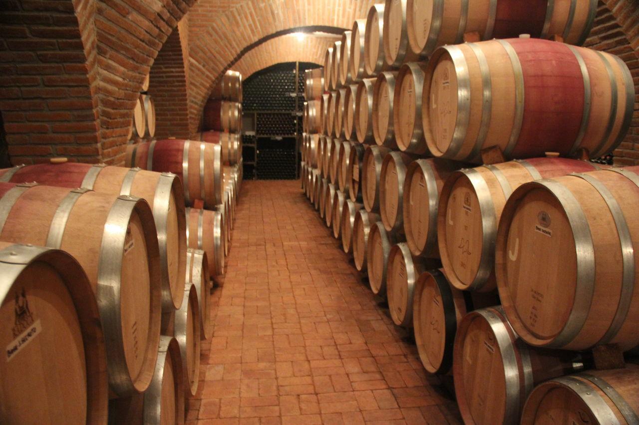 Barrels Cava Crianza Wine Wine Aging