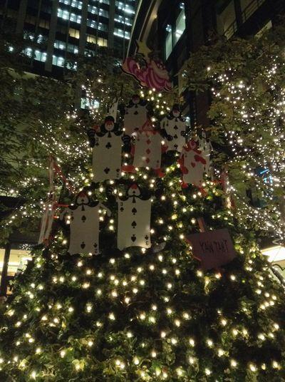 Merry Christmas! Nightphotography Lightup Ilumination IPod Touch christmas tree