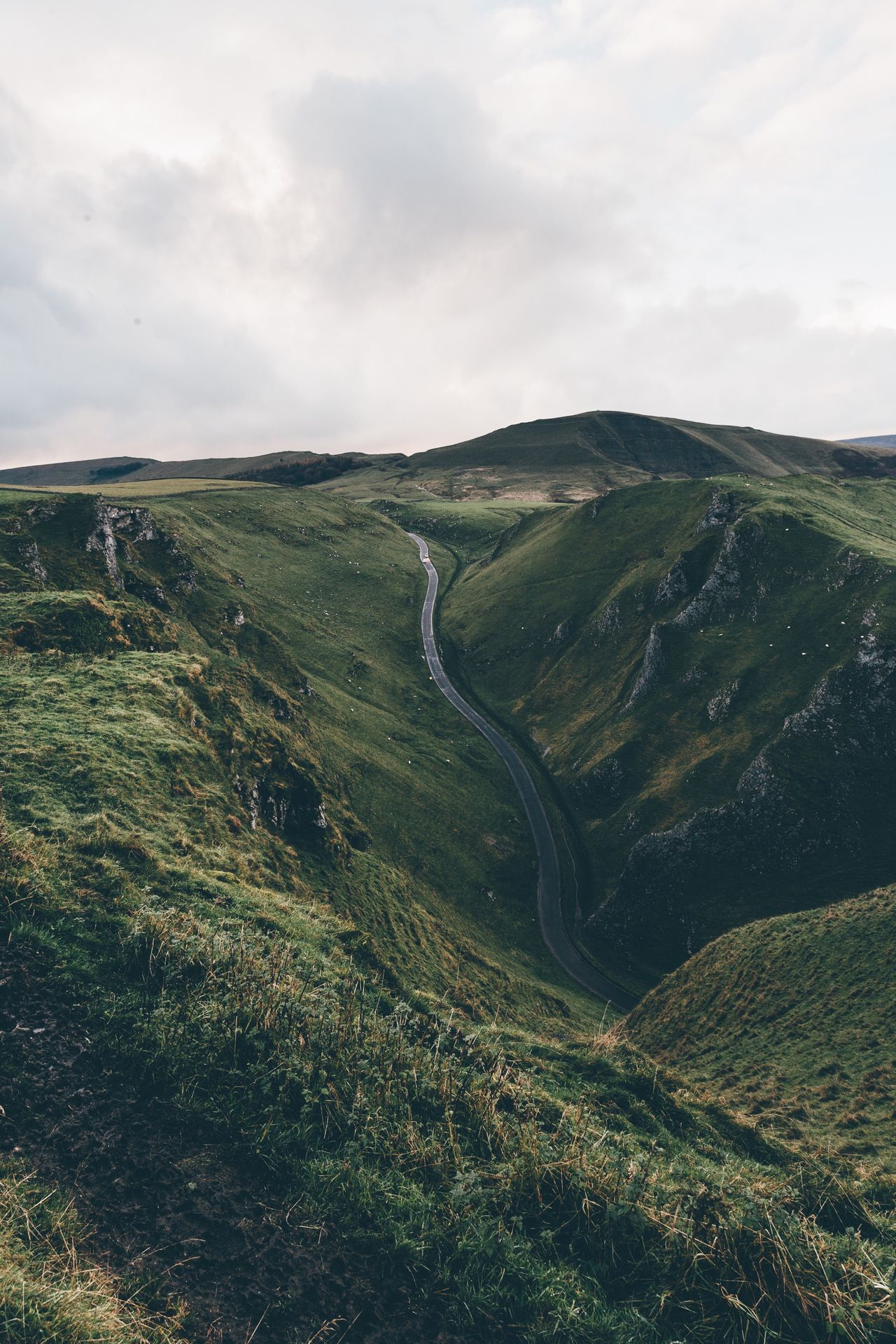 One of my favourite places to photograph is Winnats Pass in the Peak District. It's quite hidden away but it offers some amazing g views! Beauty In Nature Nature Tranquil Scene Peak District  Landscape Landscape_photography VSCO England EyeEm Best Shots EyeEm Nature Lover Instagood