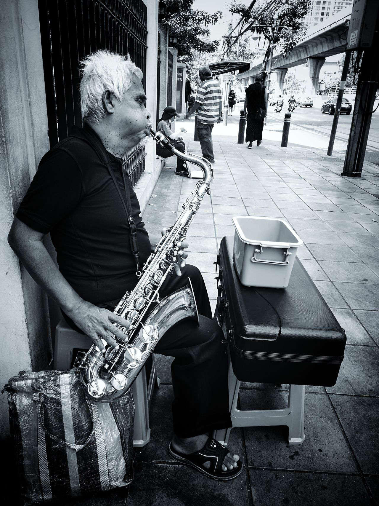 Street musicians. Music Men One Man Only Musical Instrument Arts Culture And Entertainment Indoors  Musician Real People People Playing One Person Musical Equipment Only Men