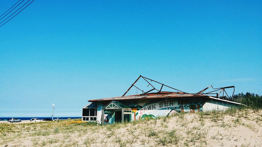 Beach Abandoned Abandoned Places Abandoned Buildings Surfing Surf Pohang Dawn Sea
