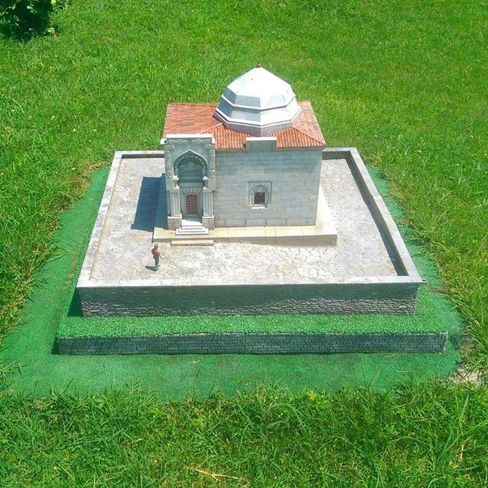 Kirsehir Asikpasa Türbe Tomb istanbul sutluce miniature miniaturk maket model art mimari architech