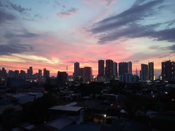Pinkish sky 💗👍 Nightsky Eyeem Philippines