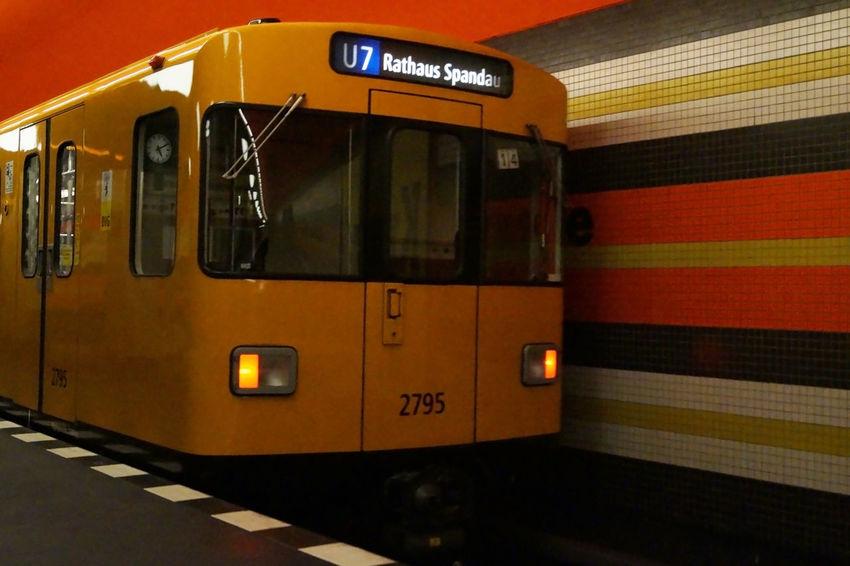 #architecture #Berlin #building #City #colours #Metro #street #Streetart #streetphotography #underground Indoors  Transportation Travel EyeEmNewHere