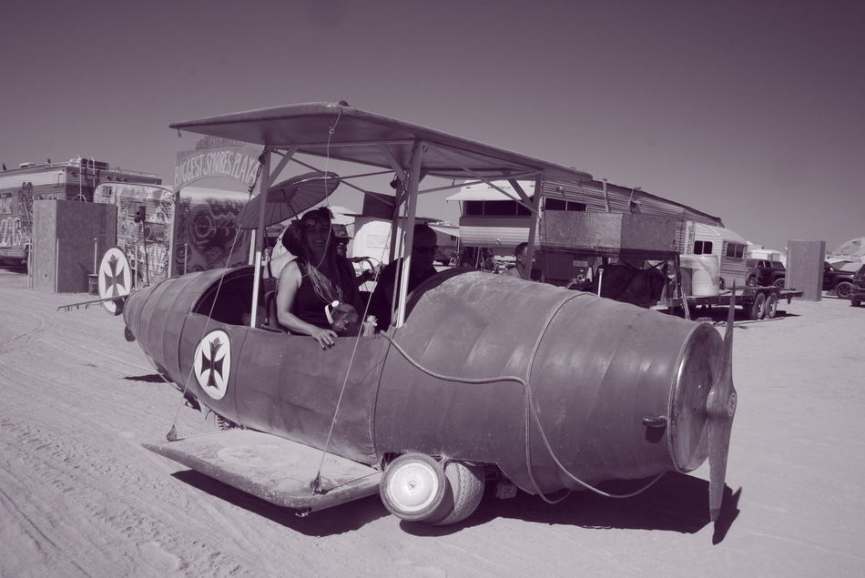 Art Cars Burning Man Black And White Photography People Photography