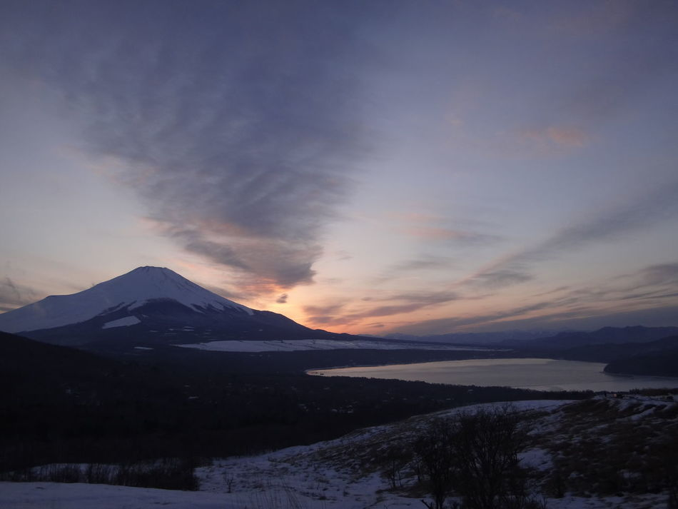 Beautiful stock photos of volcano, Cold Temperature, Day, Elevated View, Horizon Over Land