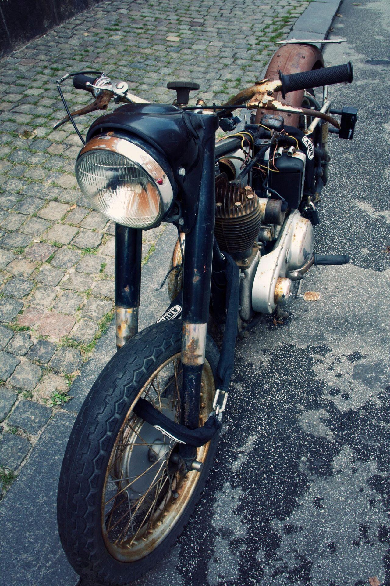 Copenhagen Motorcycles Street