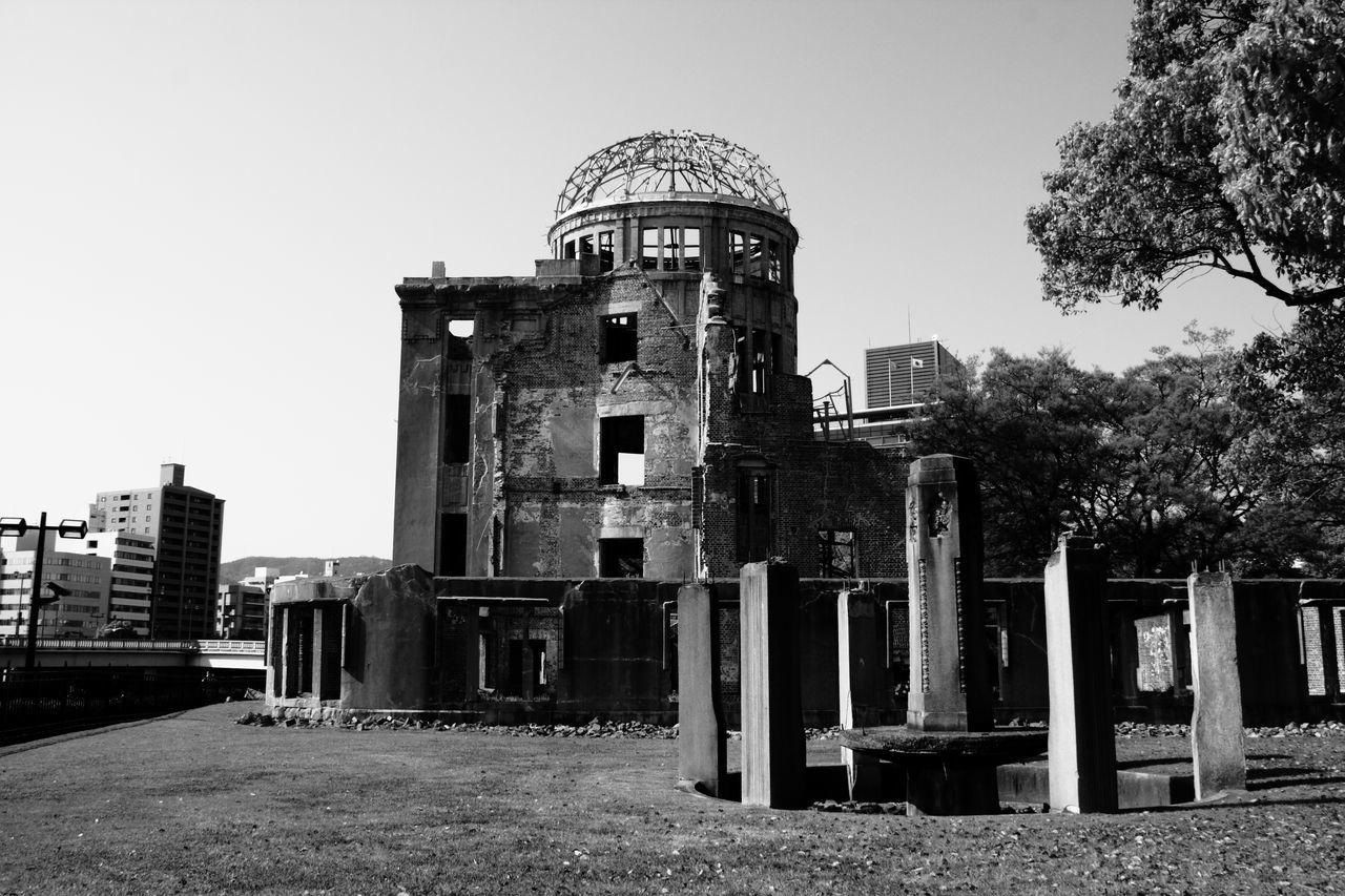 B/W Photography Ground Zéro Memories No More War 原爆ドーム 平和 平和記念公園 広島 広島平和記念公園 爆心地