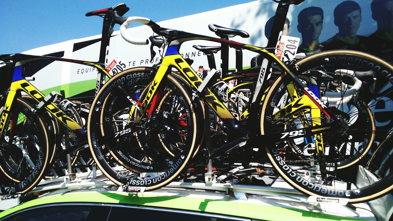Tour De France Cyclisme Tarbes Velos Look Bycicle 2015