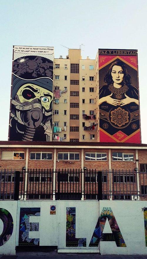 Street art. Malaga, Spain. Малага Spain ✈️🇪🇸 Malaga Street Art стритарт
