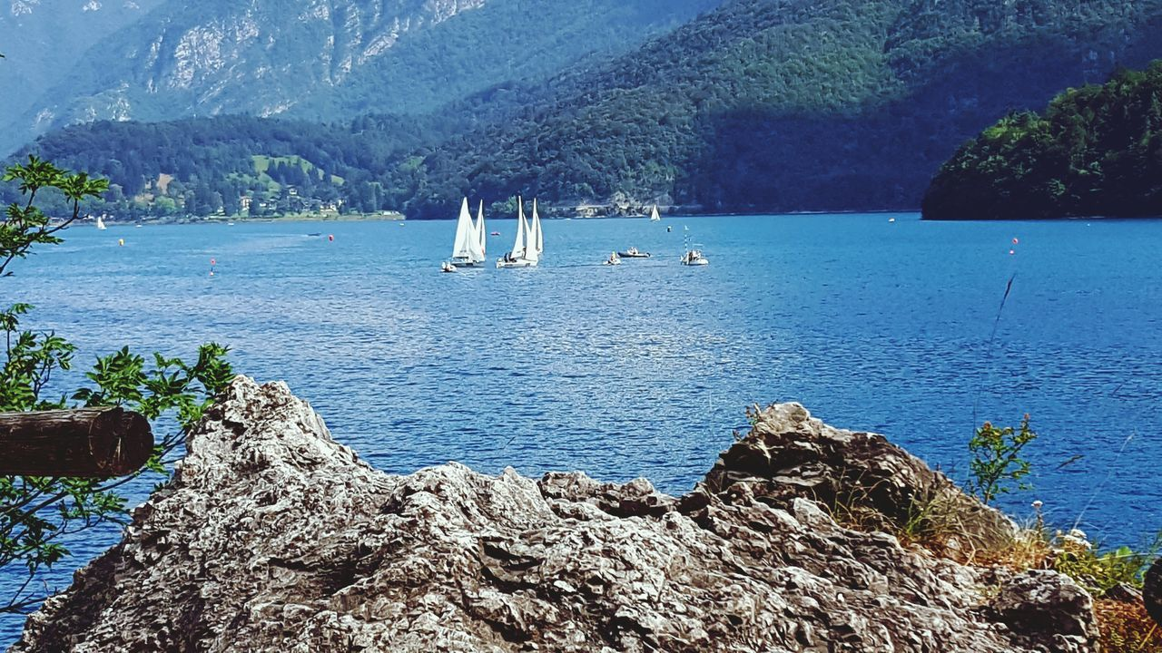 Lake Ledro Lake View Sailboat Holidays ☀