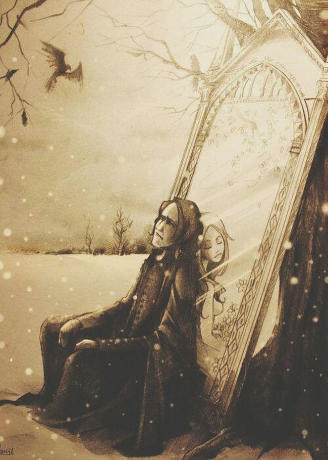 Forever...Alan Rickman Harrypotter Harrypotterfan Severus Snape