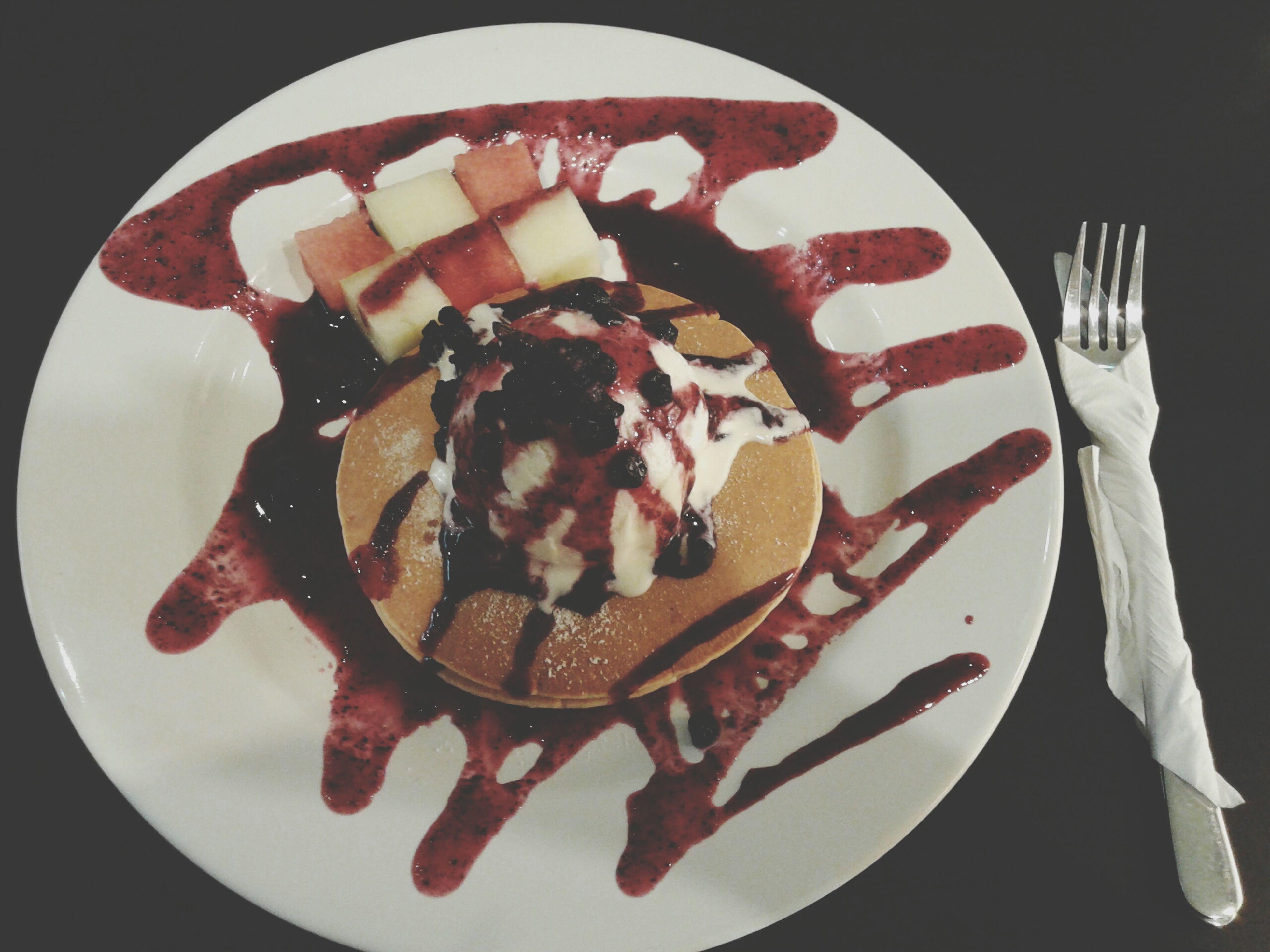 Blueberry Tango Pancake Food Foodporn Foodphotography EyeEm Indonesia Foodgasm Follow4follow Likeforlike Foodies