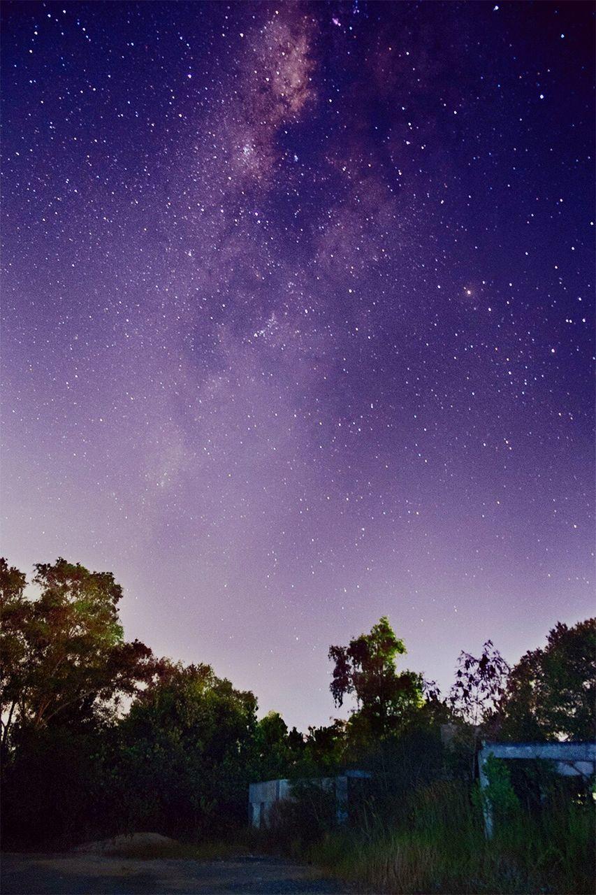 Constellation Of Stars In Sky