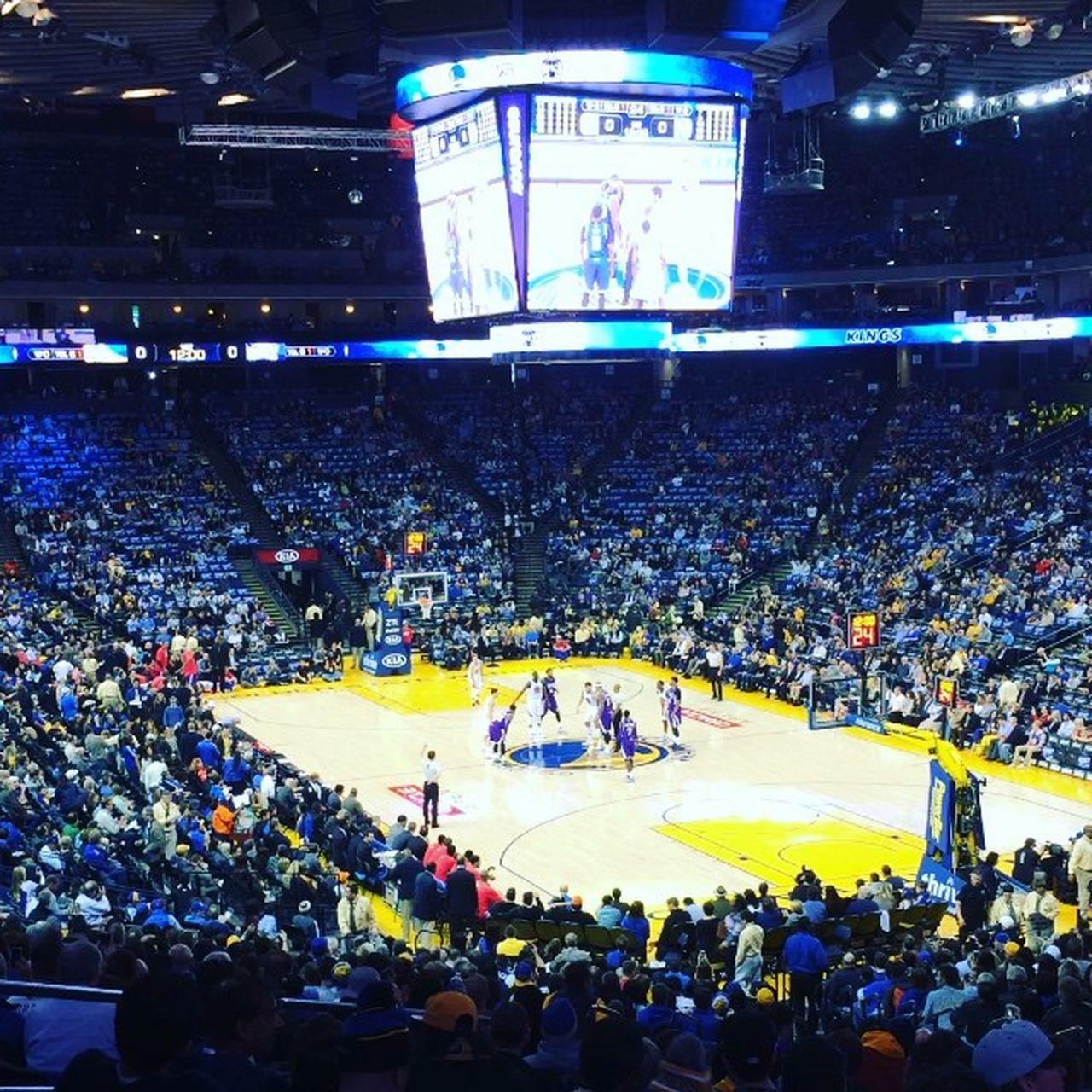 Arena Warriors Basket Goldenstate Partitadeirecord