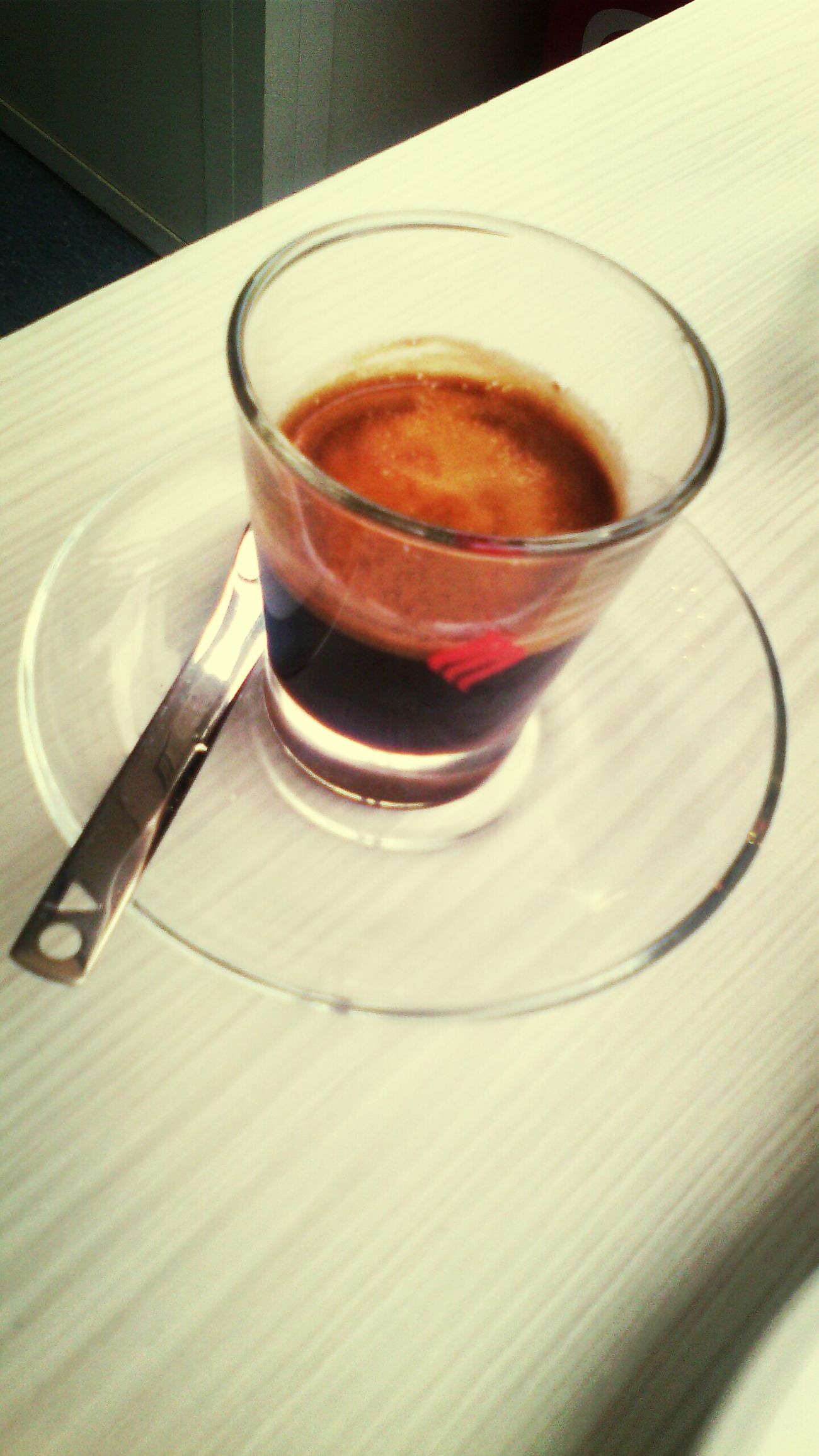 Strong Coffee Espresso Meeting Friends