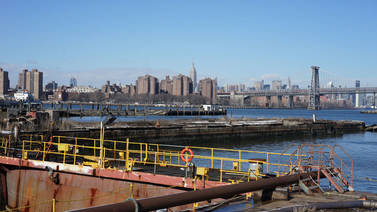 Brooklyn Brooklyn Navy Yard From The Docks Industrial Landscapes Manhattan New York New York City Sea Port