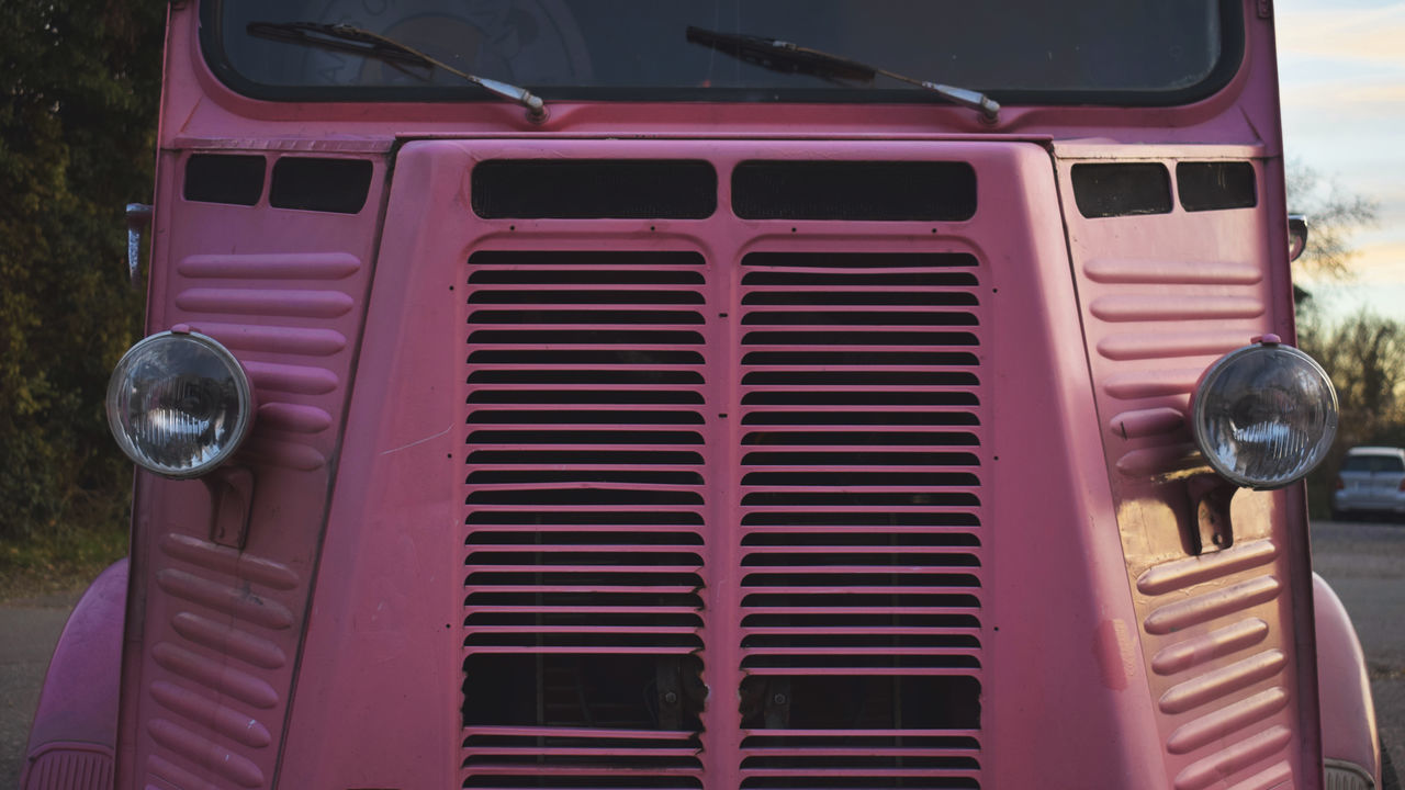 Car Cars Close-up Day EyeEm Best Shots EyeEm Gallery Funny Hello World Hipster Land Vehicle No People Outdoors Pink Pink Color Symetrical Symmetry Transportation Truck Vintage Vintage Car Vintage Cars Vintage Photo Vintage Style