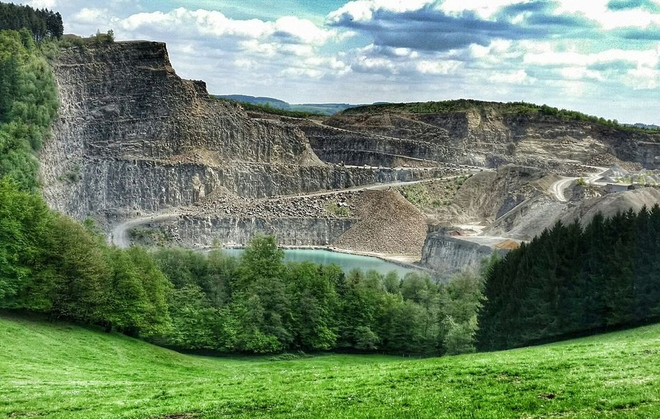 Stone Lake Stonepit Stone Pit Quarry Nature_collection Nature