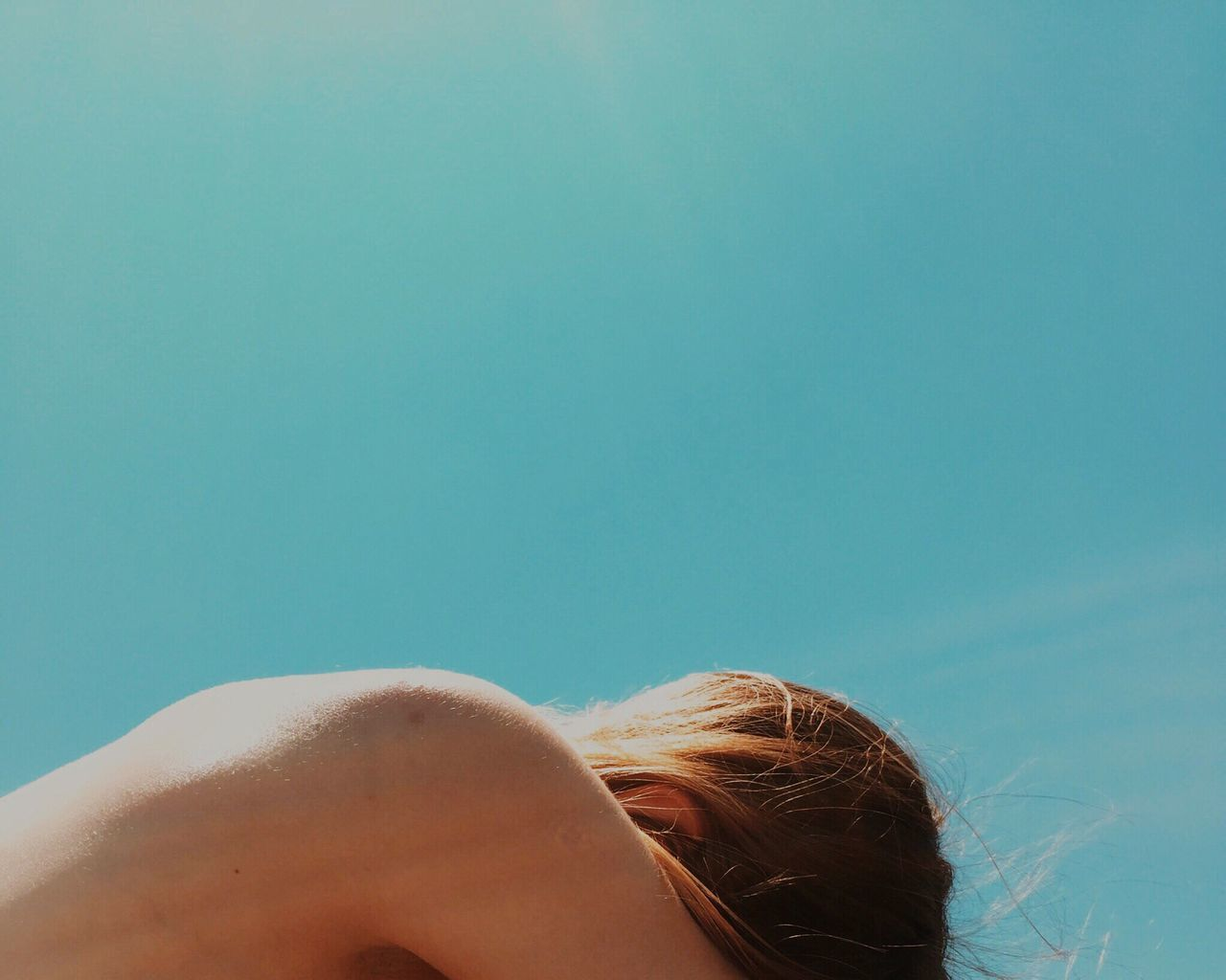 Beautiful stock photos of body, Carefree, Clear Sky, Copy Space, Cropped