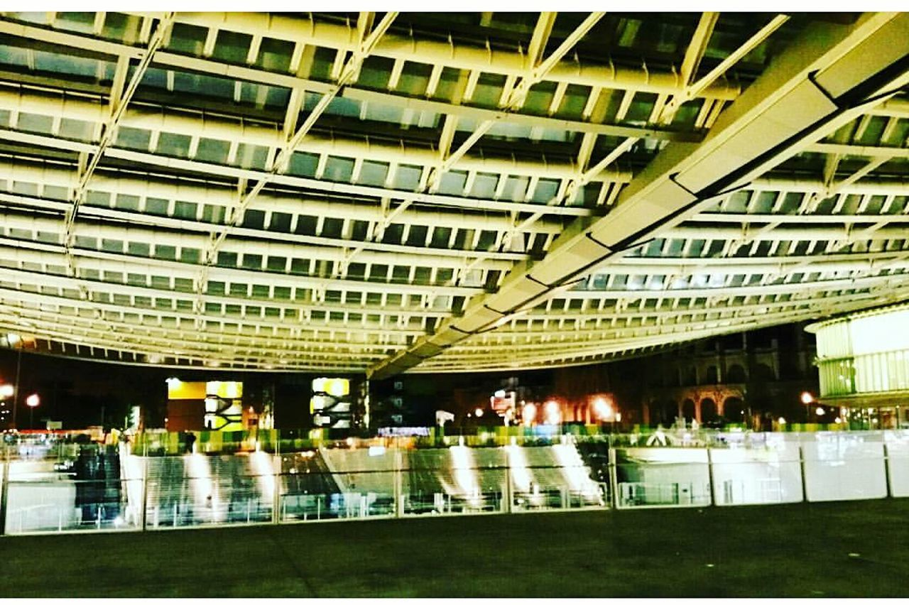 architecture, indoors, real people, built structure, illuminated, modern, women, day