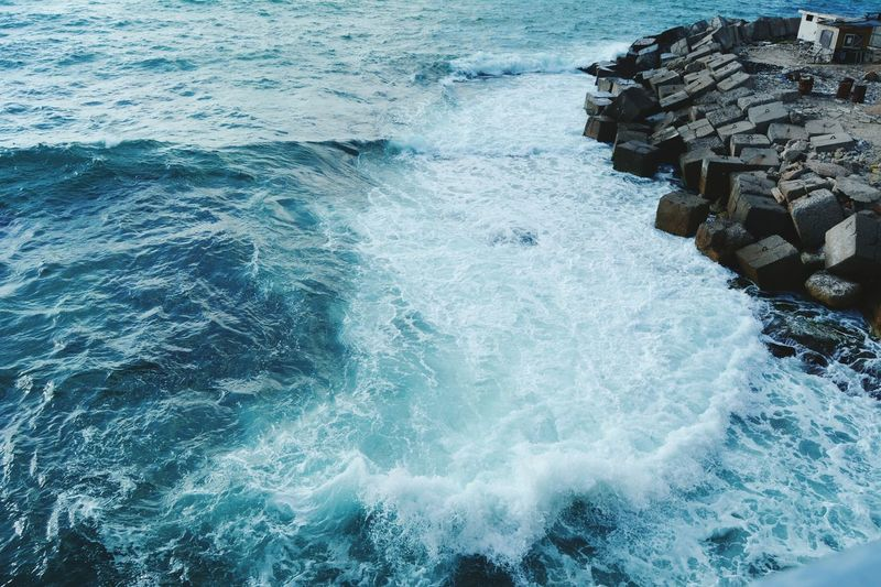waves Sea Nature Beauty In Nature Wave No People Colours Of Life Alexandria Sea The Photojournalist - 2017 EyeEm Awards EyeEmNewHere