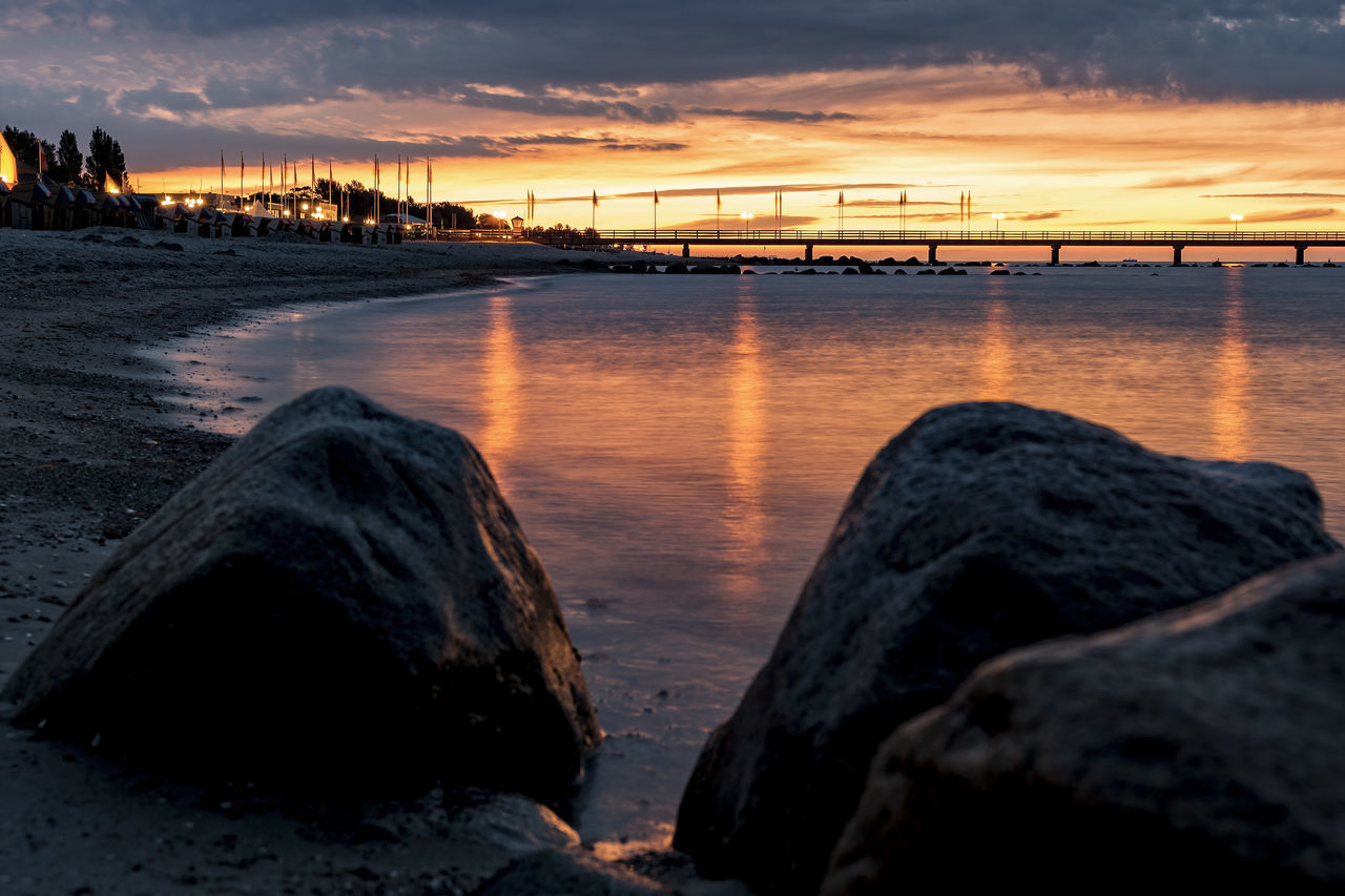 morning light Baltic Sea Morning Light Morning Sky Architecture Beach Beauty In Nature Cloud - Sky Coast Day Iluminated Nature No People Ocean Outdoors Reflections In The Water Rocks And Water Scenics Sea Sky Sunset Water