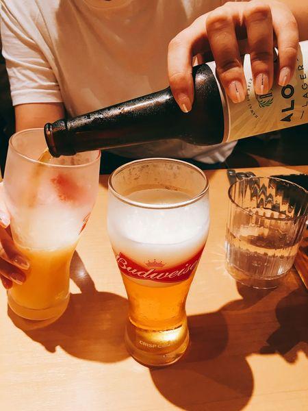 Aloha Beer Egg'n Things Japan Hukuoka, Japan Daily Life