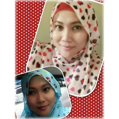 Very comfort and easy to wear this sweet shawl by @putiehijabstore *very trusted and recomended* tks mb myrna.. @vienanda Alfanova Wne1109 Wnehijab Hijabshawl hijabstyle hijabpop