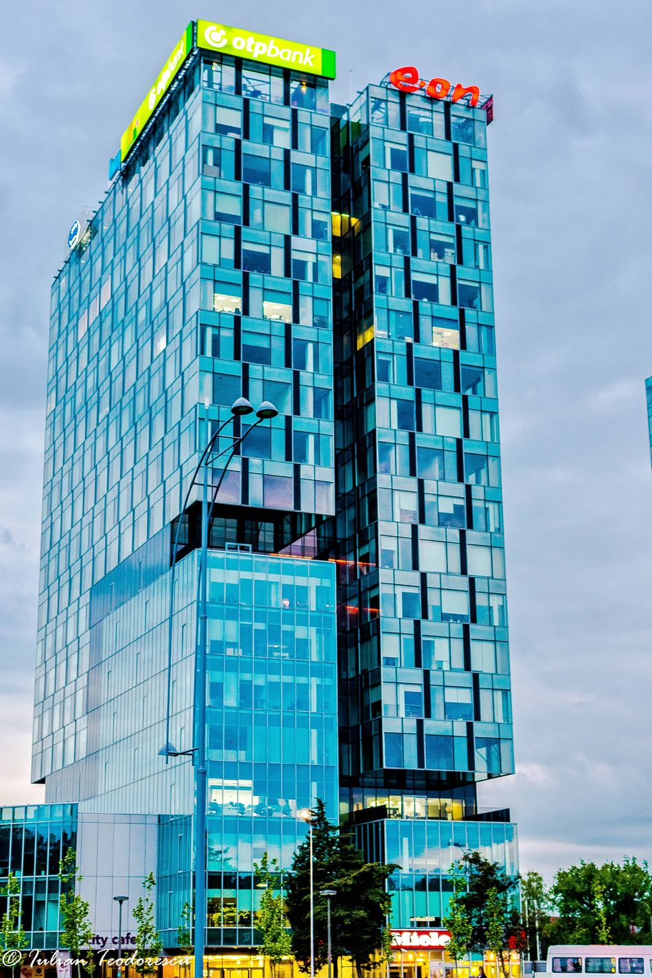 Architecture Skyscraper Building Exterior Built Structure City Urban Skyline No People Sky Outdoors Day Innovation Otpbank Eon Nikonphotography Nikon
