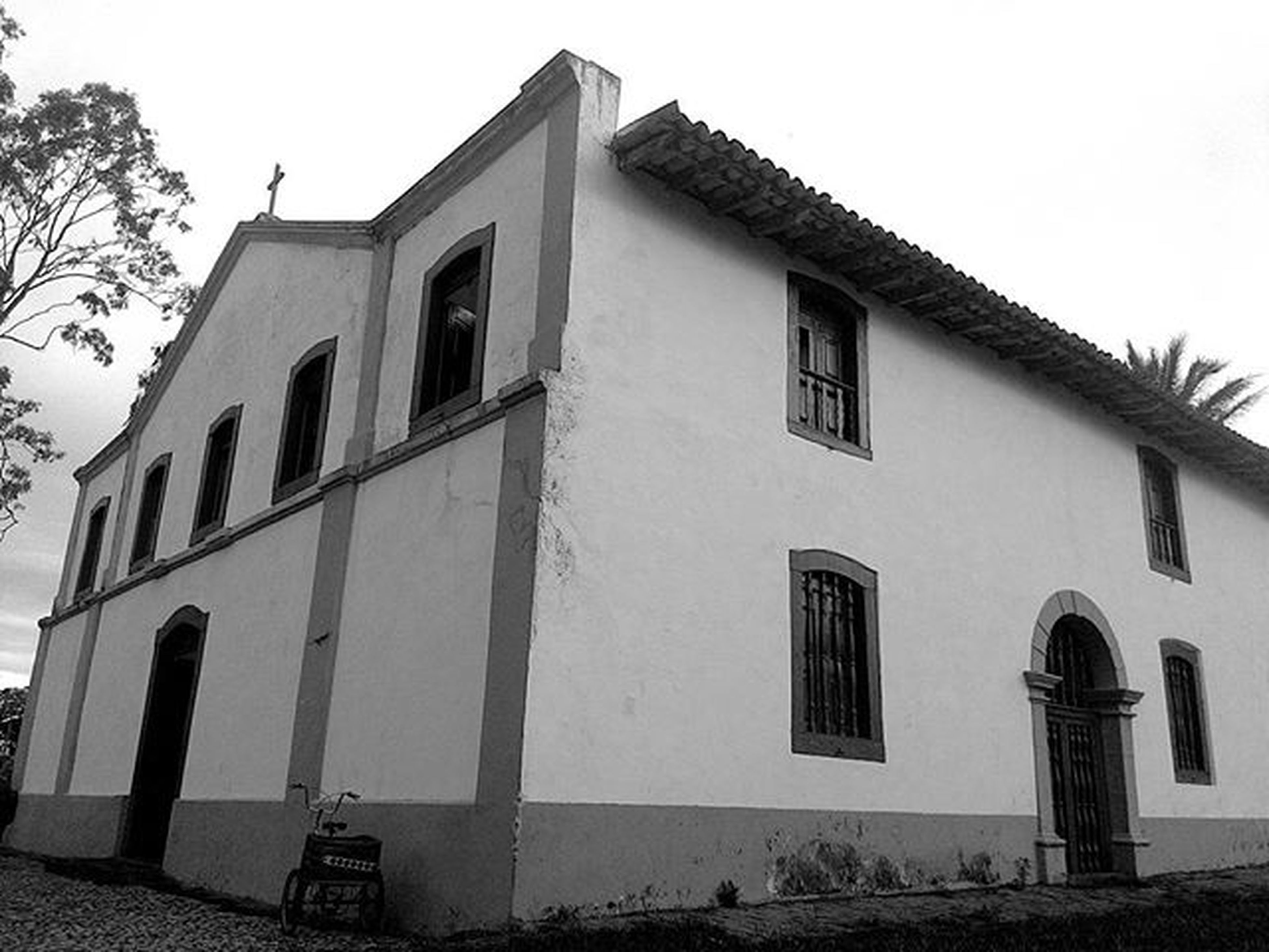 Igreja Nossa Senhora de Santana Nossasenhorasantana Chapadadosguimaraes Asuszenfone5 Blackandwhite Faith Brazil Brasil Matogrosso MatoGrosso_Brasil