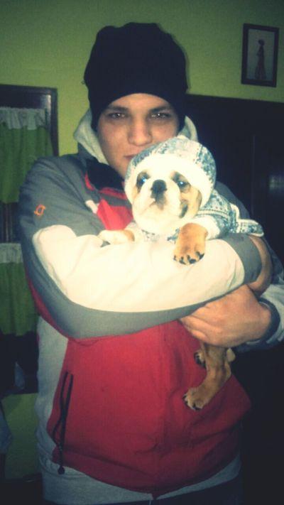 Con mii perro Franchesco.. First Eyeem Photo