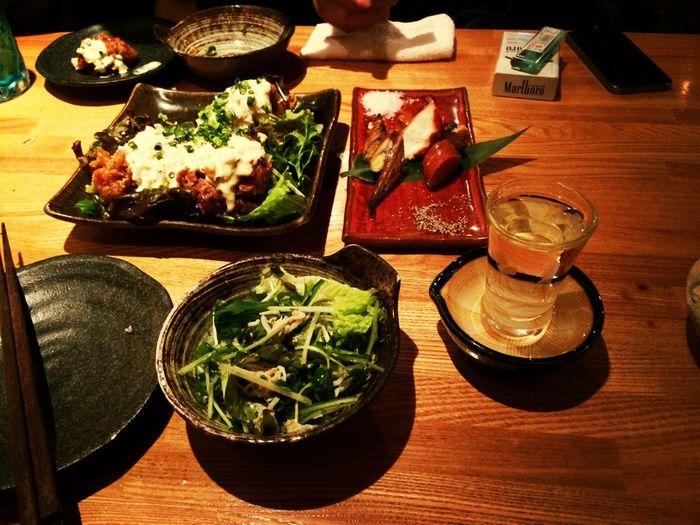 同僚と晩飯。