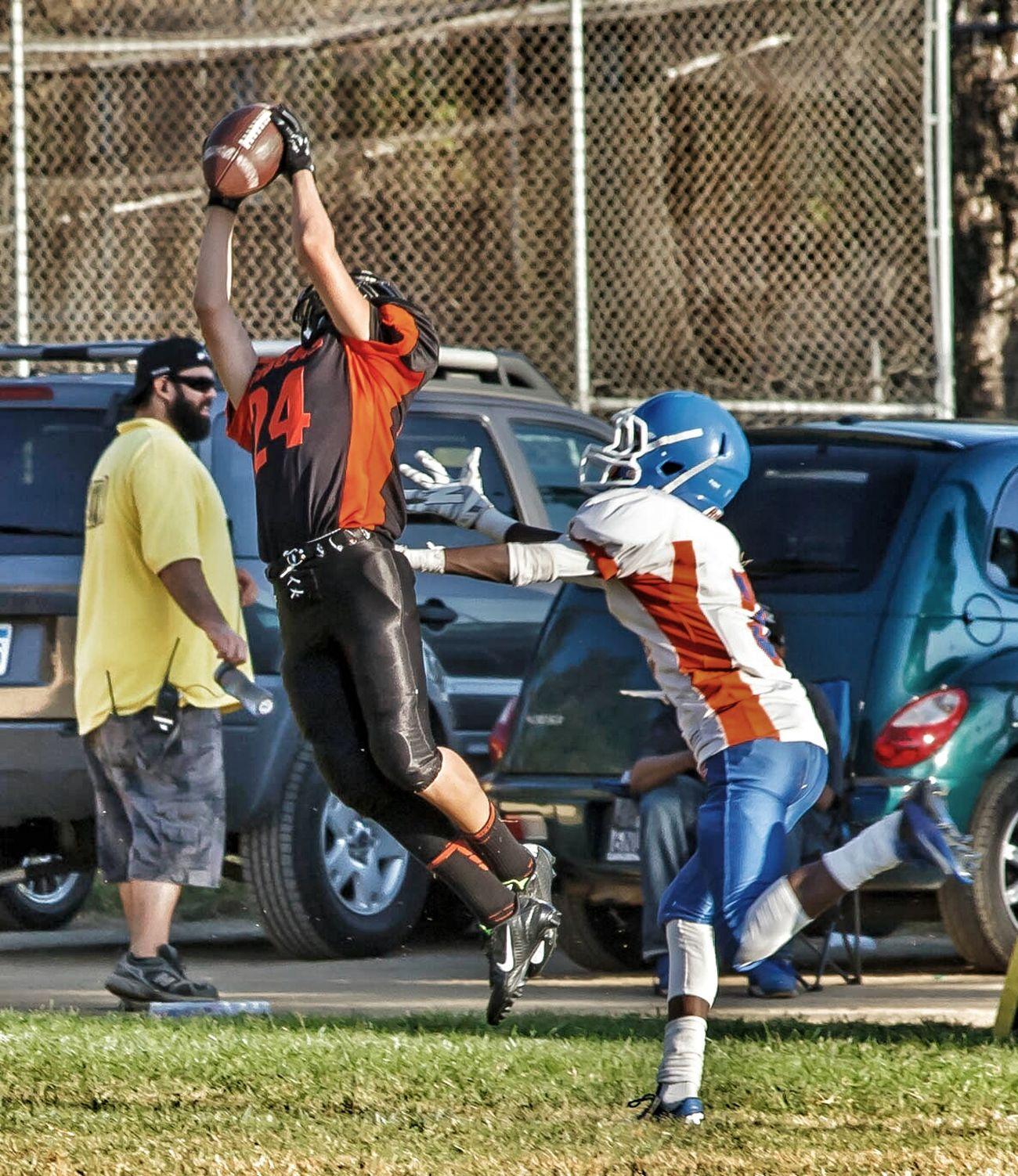 Interception Football Highschool Los Angeles, California