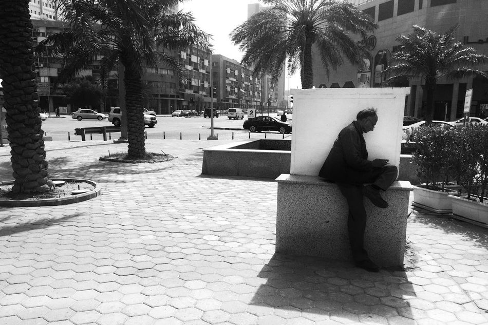 In the shade. Streetphotography