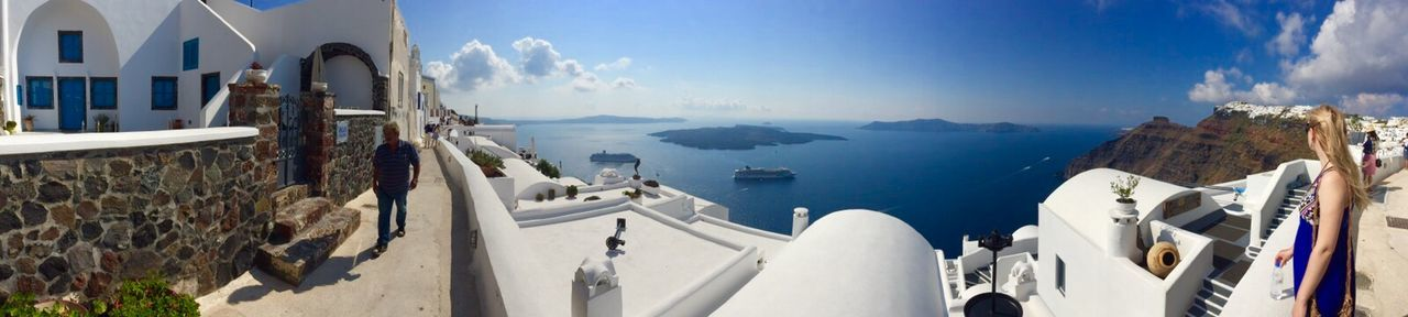Walking Around From Santorini With Love Panoramas Of Santorini Beautiful Life