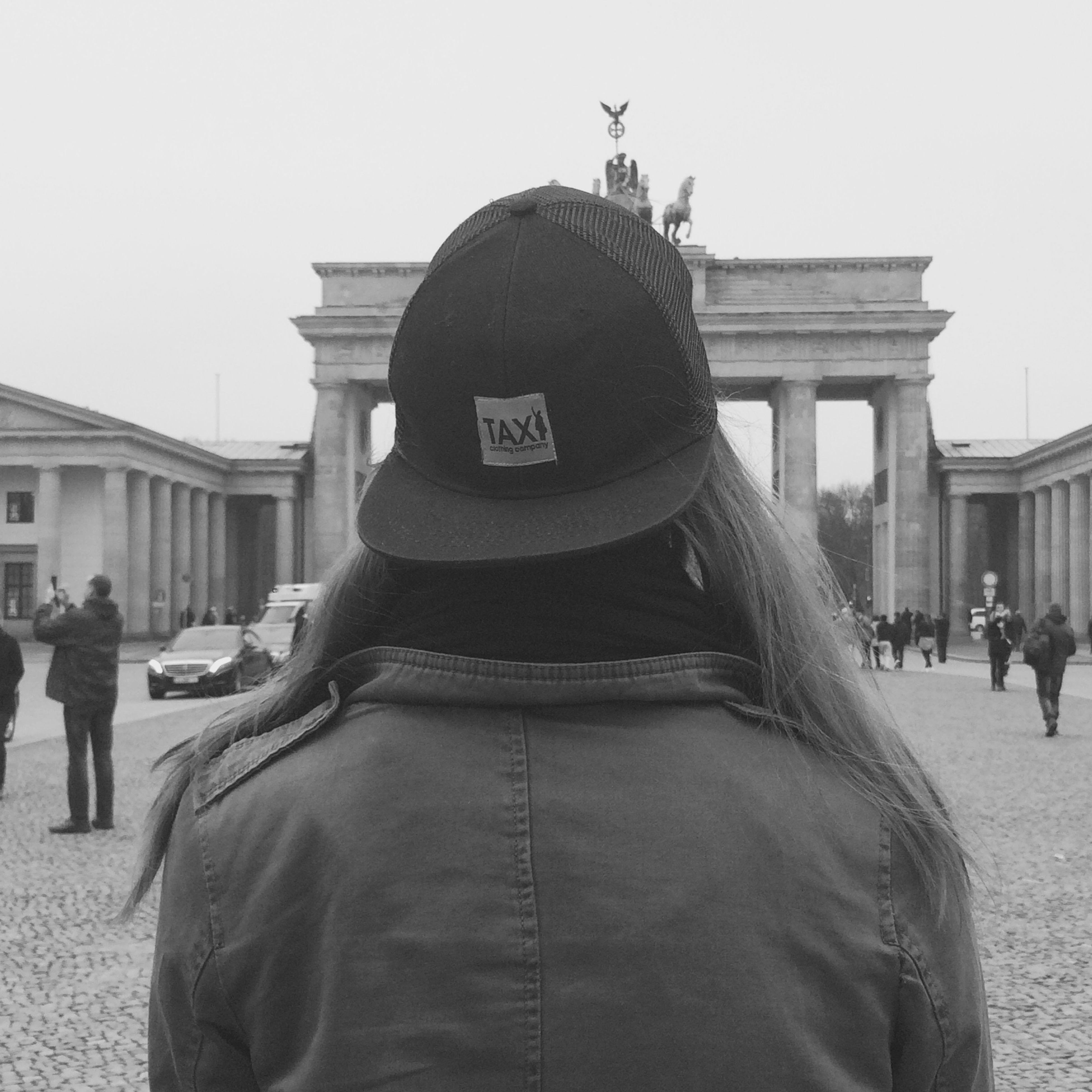 Taxiclothing Berlin Germany Girl Traveler Lovemylife Citytrip Blackandwhite