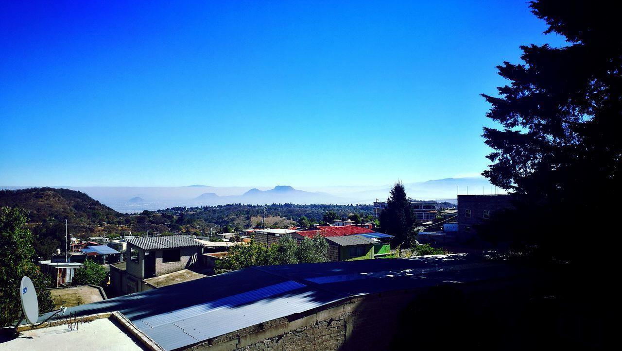Sky Mountain Smok Blue No People Milpaalta Not City