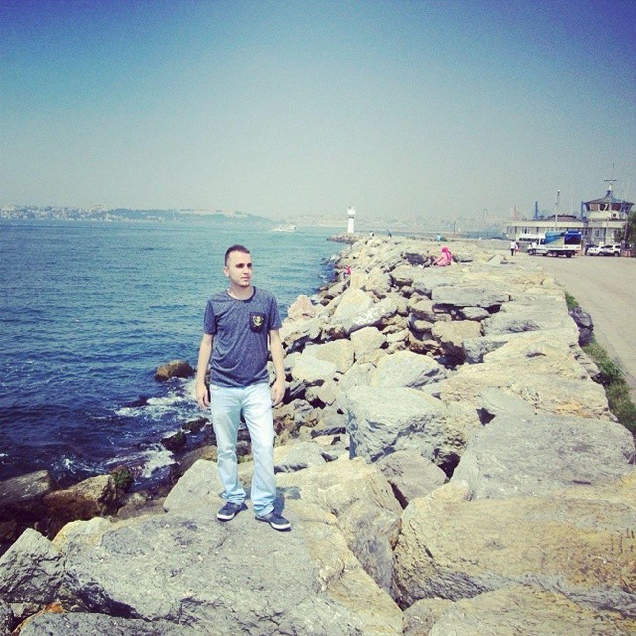 Kadıköy Sahil Deniz Sıcak